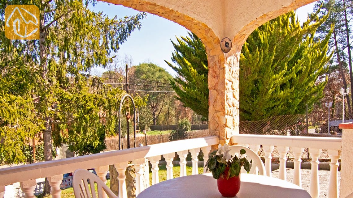 Casas de vacaciones Costa Brava Countryside España - Villa Farnolia - Terraza