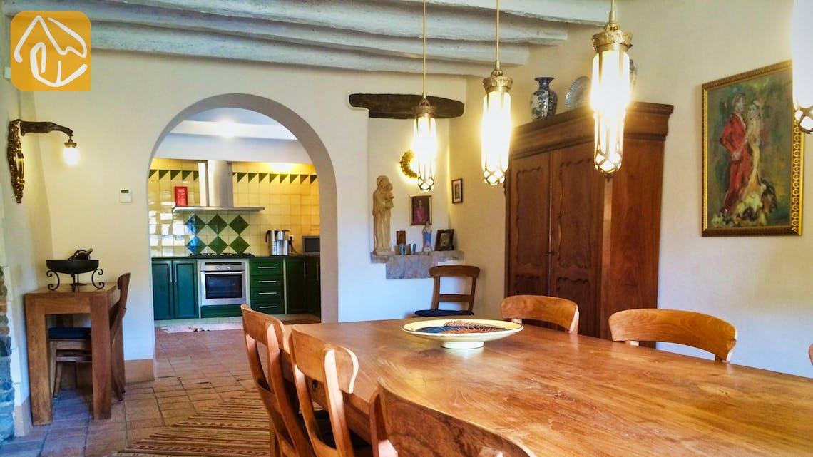 Casas de vacaciones Costa Brava Countryside España - Mas Dalvi - Zona de comer