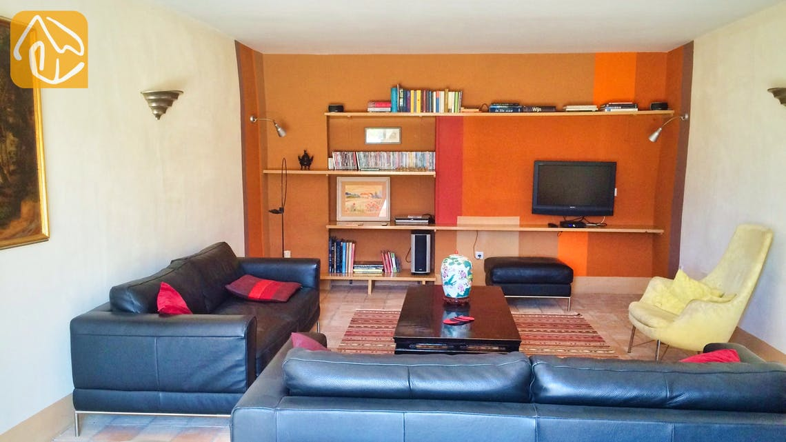 Casas de vacaciones Costa Brava Countryside España - Mas Dalvi - Salón