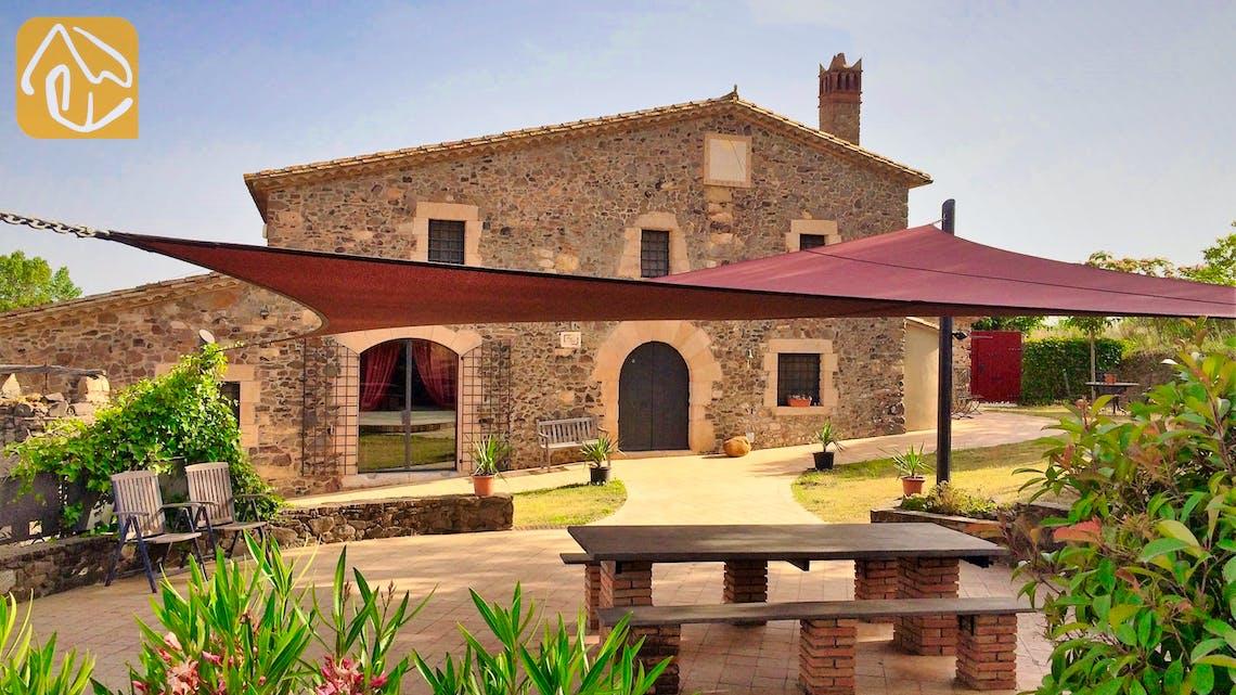 Casas de vacaciones Costa Brava Countryside España - Mas Dalvi - Sala de estar