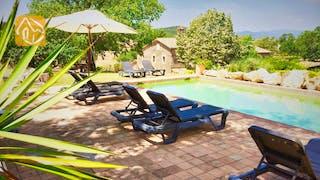 Casas de vacaciones Costa Brava Countryside España - Mas Dalvi - Piscina