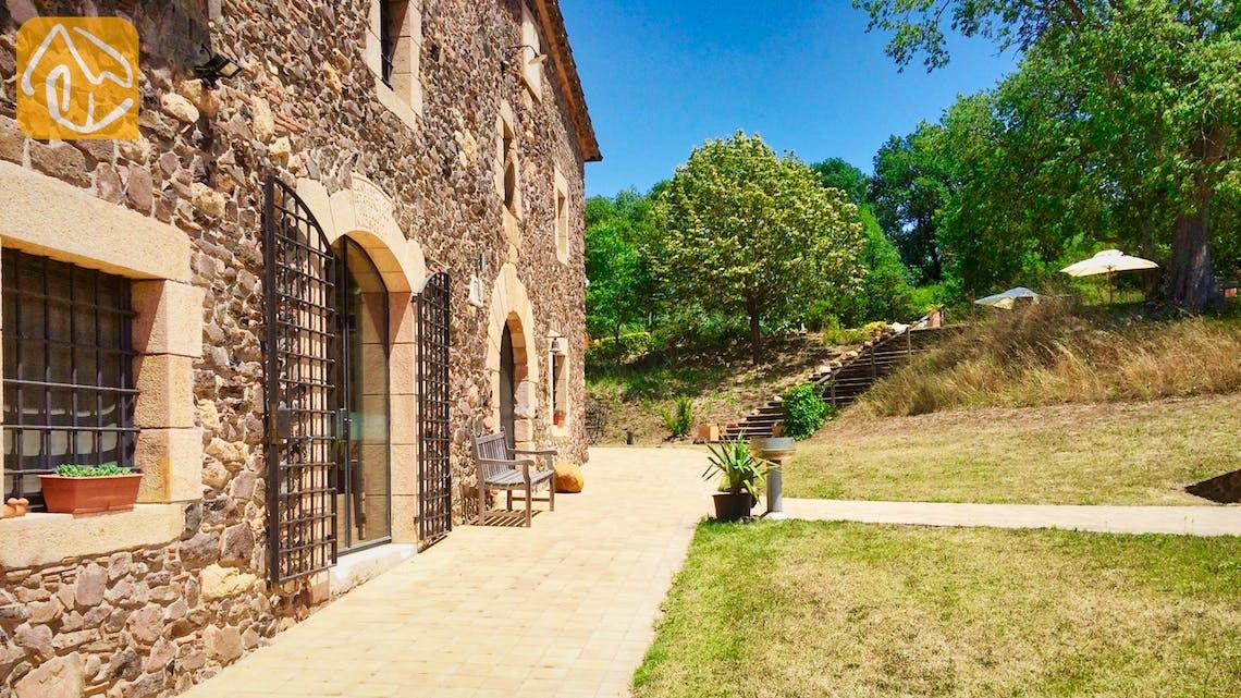 Casas de vacaciones Costa Brava Countryside España - Mas Dalvi - Jardín
