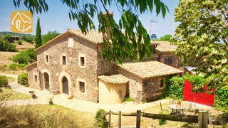 Casas de vacaciones Costa Brava Countryside España - Mas Dalvi - Afuera de la casa