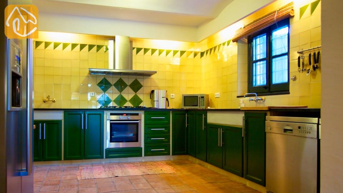 Casas de vacaciones Costa Brava Countryside España - Mas Dalvi - Cocina