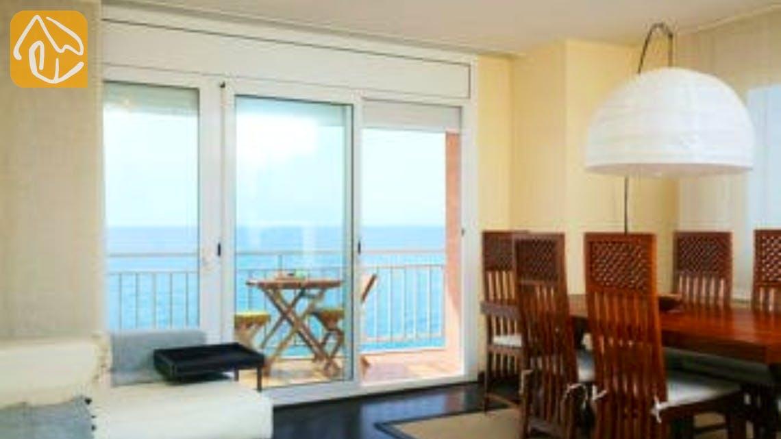 Holiday villas Costa Brava Spain - Apartment Saint Tropez - Living area