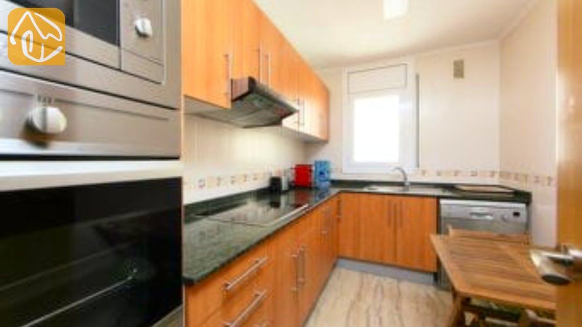 Holiday villas Costa Brava Spain - Apartment Saint Tropez - Kitchen