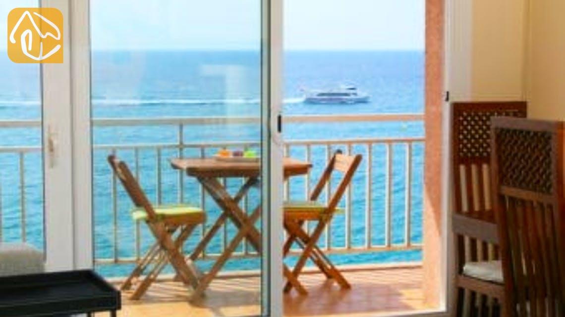 Holiday villas Costa Brava Spain - Apartment Saint Tropez - Terrace