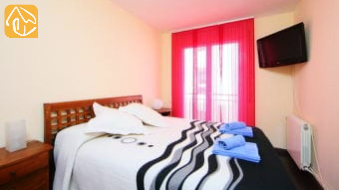 Holiday villas Costa Brava Spain - Apartment Saint Tropez - Bedroom
