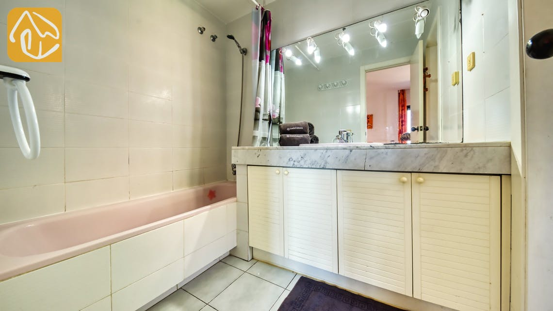 Ferienhäuser Costa Brava Spanien - Apartment Monaco - En-suite bathroom