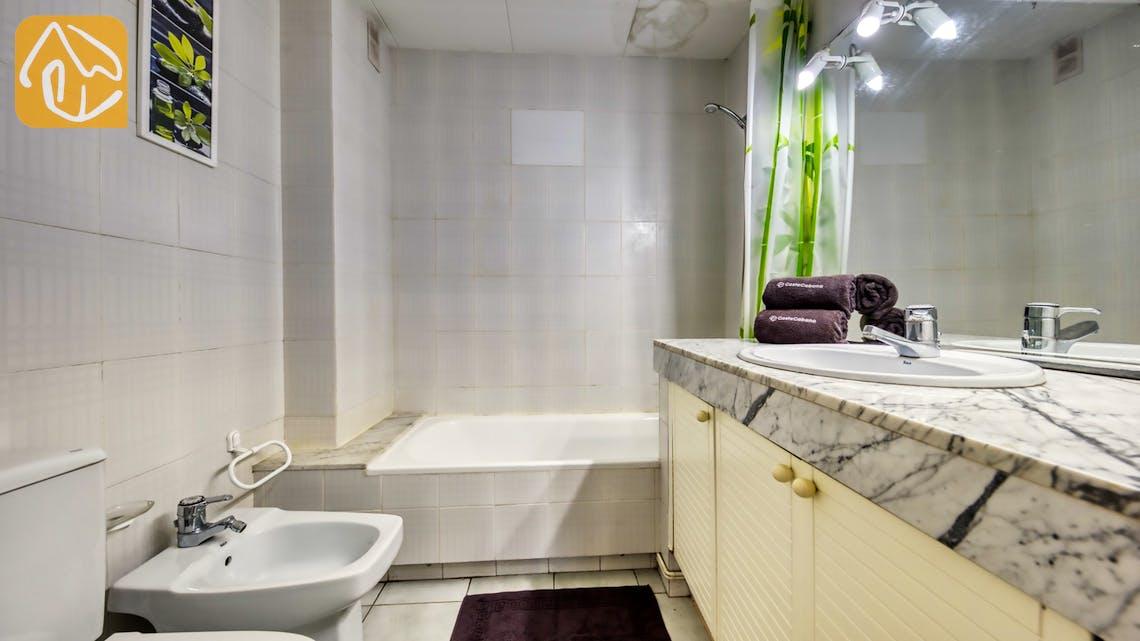 Ferienhäuser Costa Brava Spanien - Apartment Monaco - Badezimmer