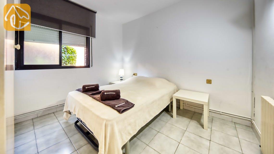 Ferienhäuser Costa Brava Spanien - Apartment Monaco - Schlafzimmer