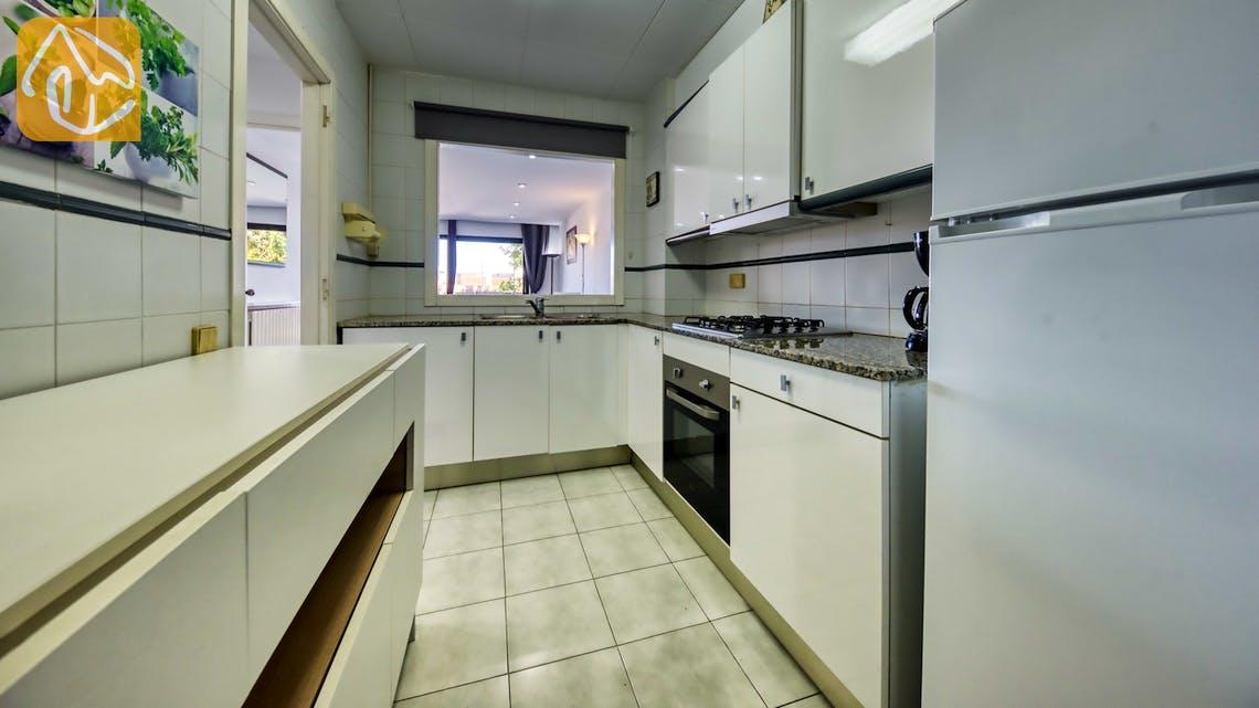 Casas de vacaciones Costa Brava España - Apartment Monaco - Cocina