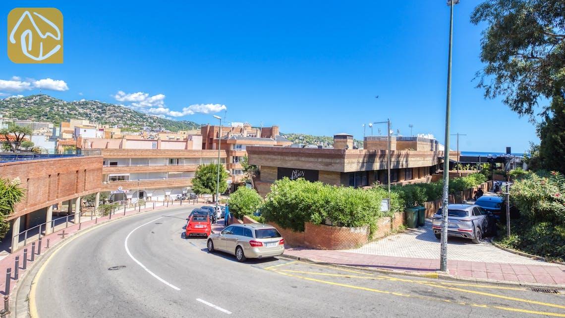 Ferienhäuser Costa Brava Spanien - Apartment Monaco - Eine der Aussichten