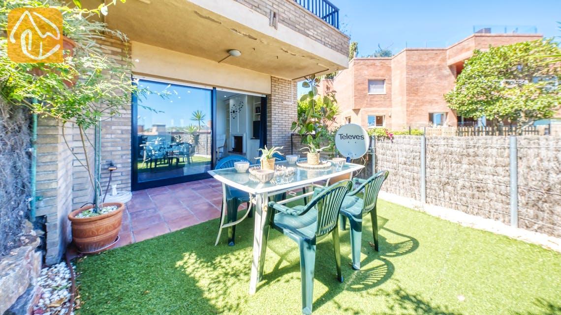 Casas de vacaciones Costa Brava España - Apartment Monaco - Jardín