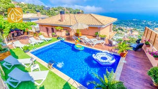 Holiday villas Costa Brava Spain - Villa Onyx - Villa outside
