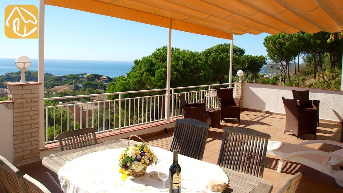 Holiday villas Costa Brava Spain - Villa Dolphina - Lounge area