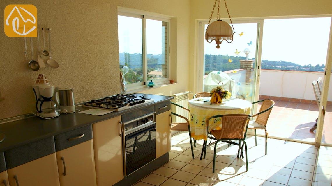 Vakantiehuizen Costa Brava Spanje - Villa Dolphina - Keuken