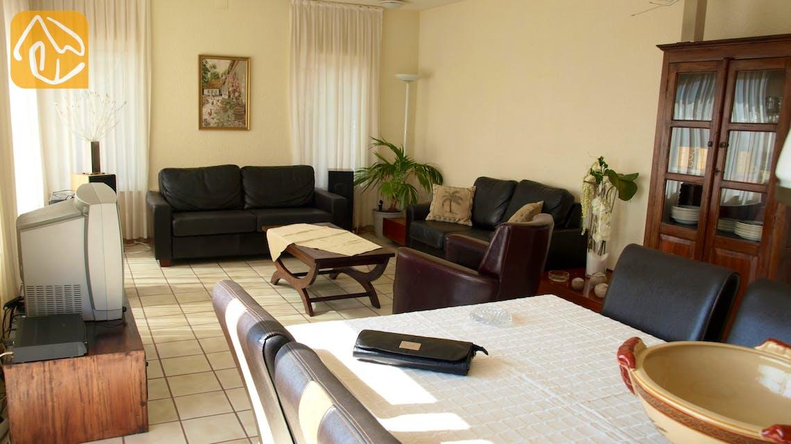 Vakantiehuizen Costa Brava Spanje - Villa Dolphina - Woonkamer