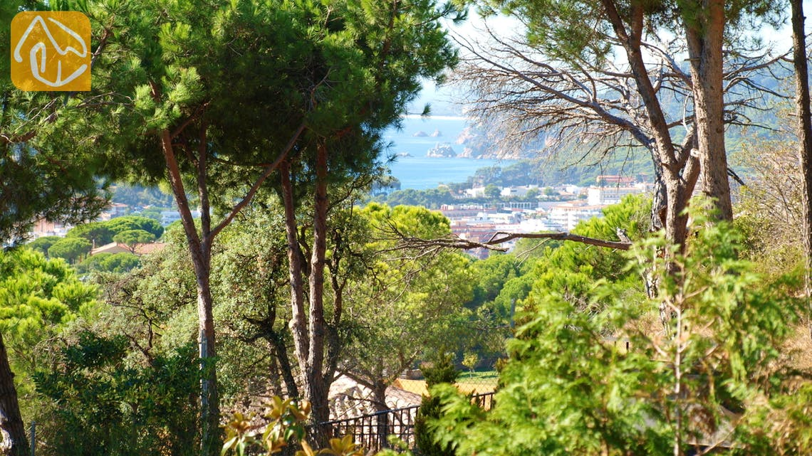 Holiday villas Costa Brava Spain - Villa Dolphina - One of the views