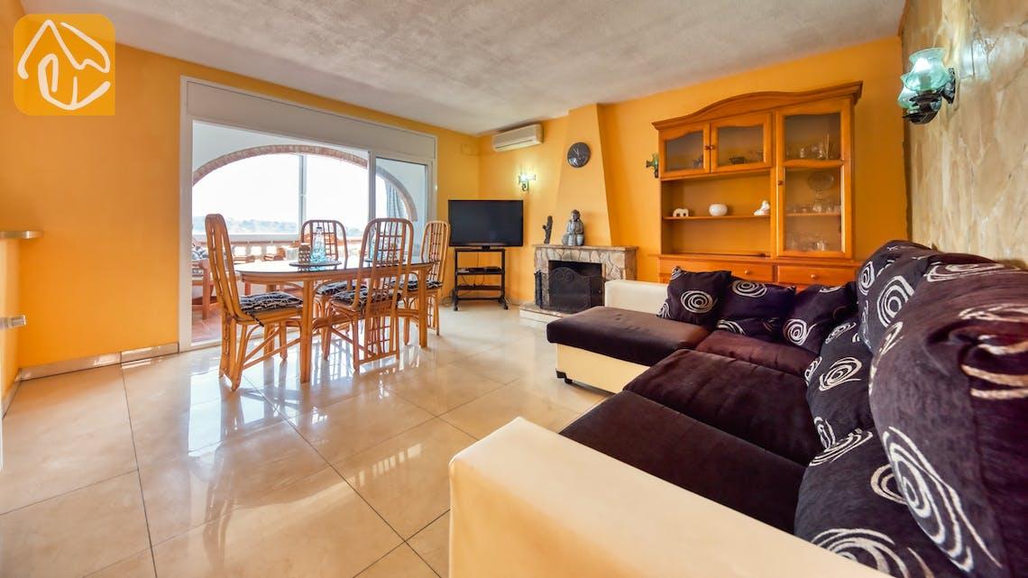 Vakantiehuizen Costa Brava Spanje - Villa Patricia - Woonkamer