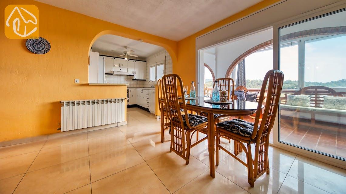 Vakantiehuizen Costa Brava Spanje - Villa Patricia - Diner zone
