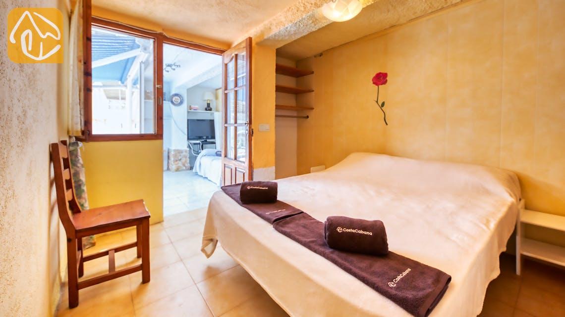 Vakantiehuizen Costa Brava Spanje - Villa Patricia - Slaapkamer