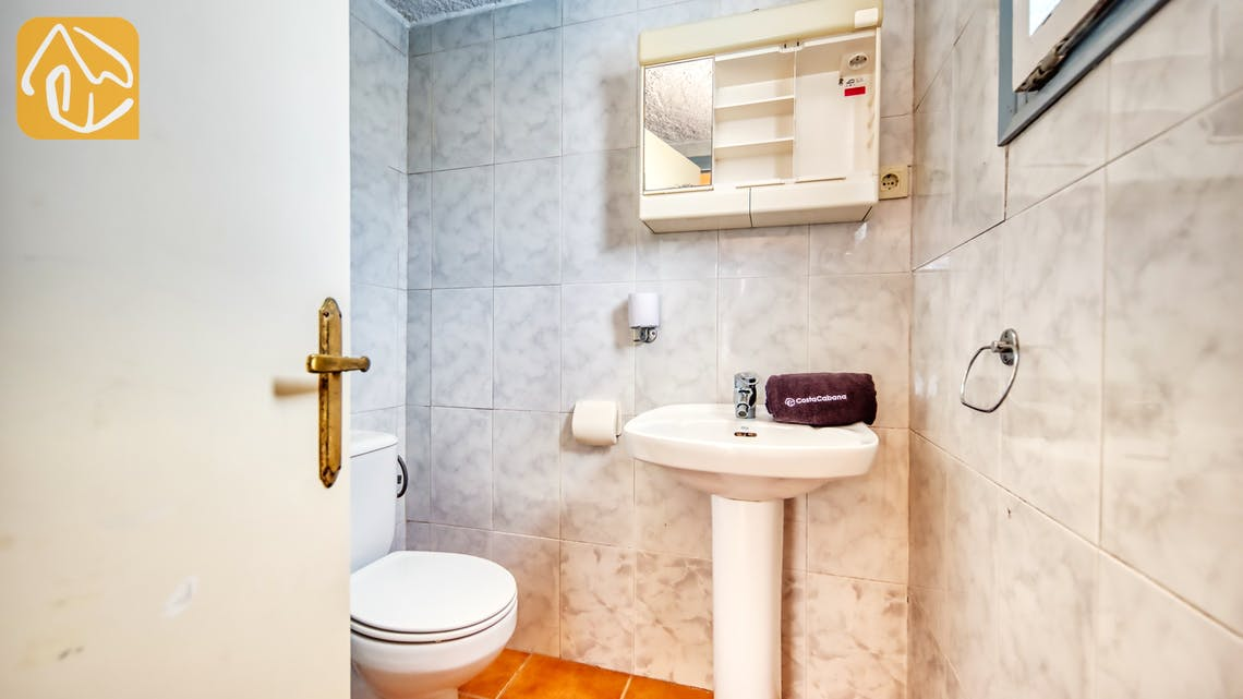 Vakantiehuizen Costa Brava Spanje - Villa Patricia - Badkamer