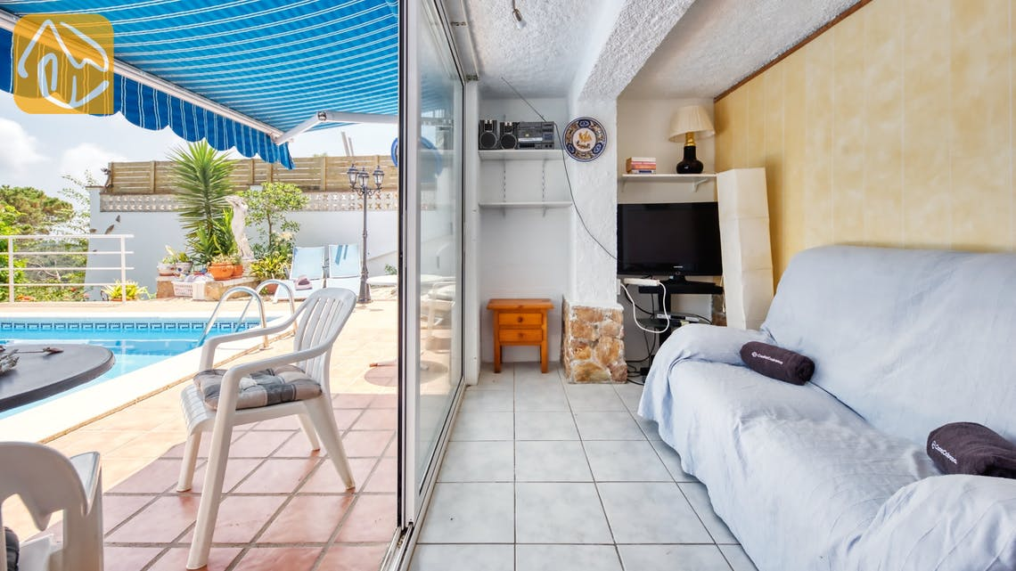 Vakantiehuizen Costa Brava Spanje - Villa Patricia - Lounge gedeelte