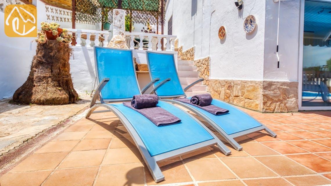 Vakantiehuizen Costa Brava Spanje - Villa Patricia - Ligbedden