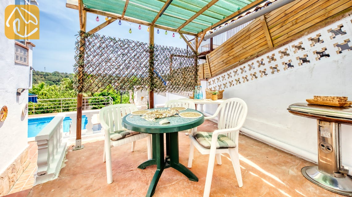 Vakantiehuizen Costa Brava Spanje - Villa Patricia - BBQ Area