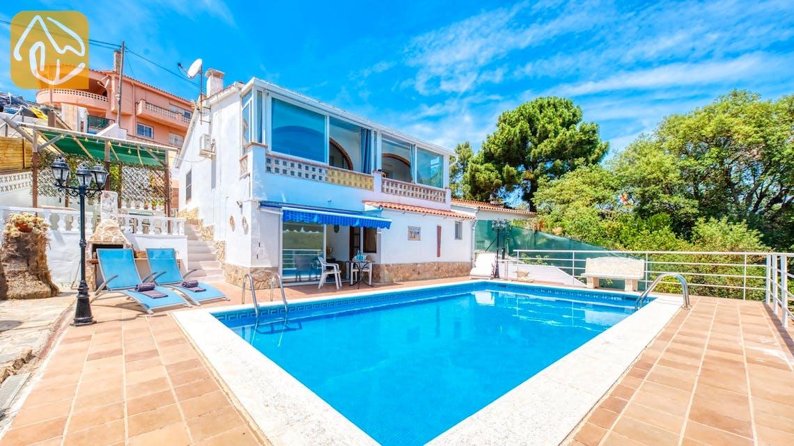 Vakantiehuizen Costa Brava Spanje - Villa Patricia - Om de villa
