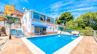 Casas de vacaciones Costa Brava España - Villa Patricia - Afuera de la casa