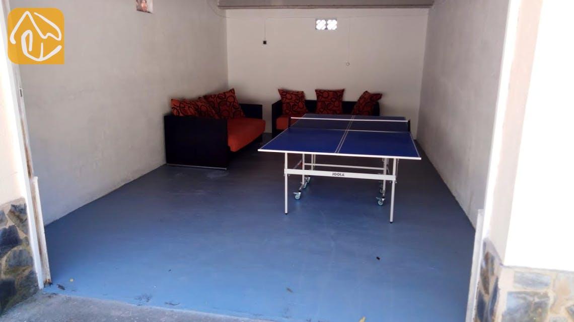 Holiday villas Costa Brava Spain - Villa Ingrid - Play area