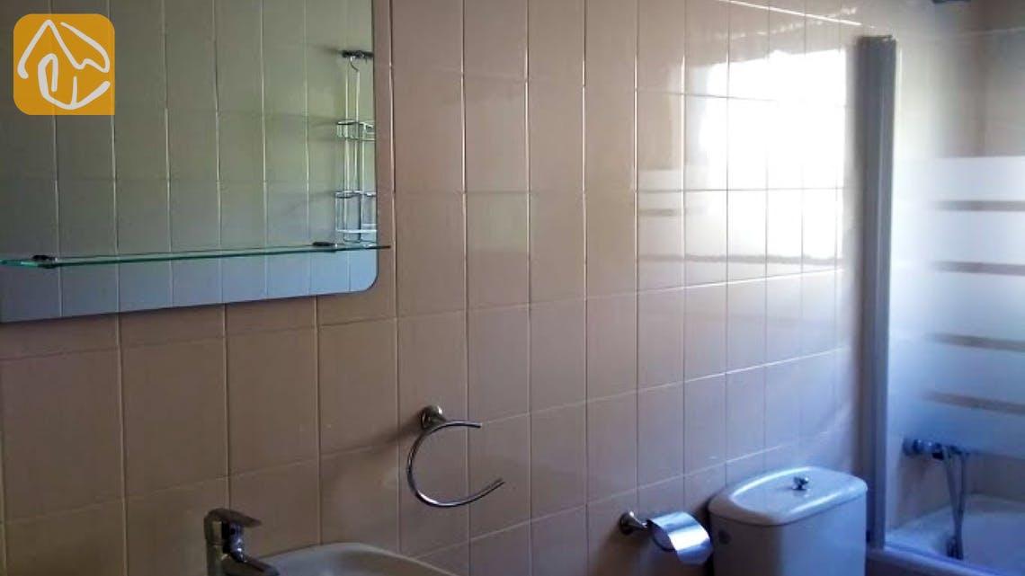 Holiday villas Costa Brava Spain - Villa Ingrid - Bathroom