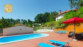 Casas de vacaciones Costa Brava España - Villa Ingrid - Piscina